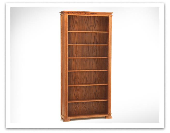 Prairie Style Bookcase