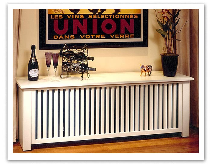 The Wooden Radiator Cabinet Company Custom Prairie